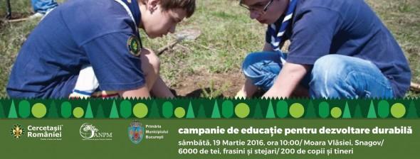 campanie de educație pentru dezvoltare durabilă