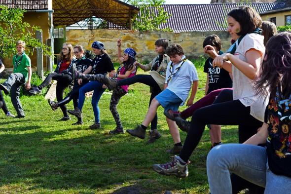 Aventură cercetășească pe Valea Hârtibaciului_foto2